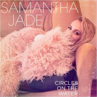 Samantha Jade circles on the water
