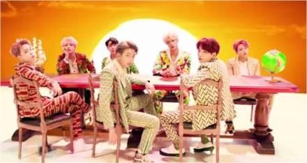 BTS Idol Music Video